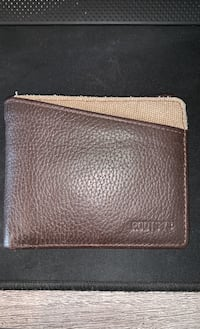 Roots 73 Leather Slimfold RFID Wallet with Coin Pocket Vaughan, L4J 0J8