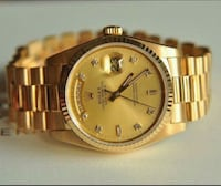 Rolex Daydate 18038 18k Yellow Gold   Berlin