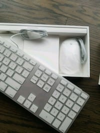 new Apple keyboard and mouse  Mississauga, L5N 2B6