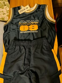 Matching CCM Tank Top & Track Pants 6X Mississauga, L5M 4S9