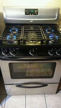 black and gray gas range oven Chicago, 60623