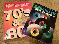 50 Classic Rock Favs & Highlights of 70s &80s Music vocal/piano/guitar