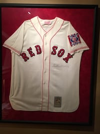 Ted Williams Autographed Jersey Kingston, 03848