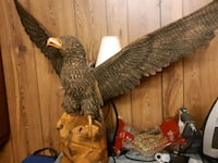 Rare Hand carved eagle from Russia