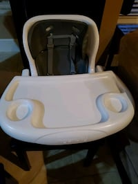 High chair attachable to regular chair
