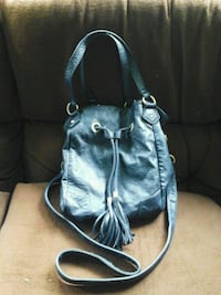 Leather Hobo style Purse