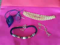 Lot of 4 necklaces New Hyde Park, 11040
