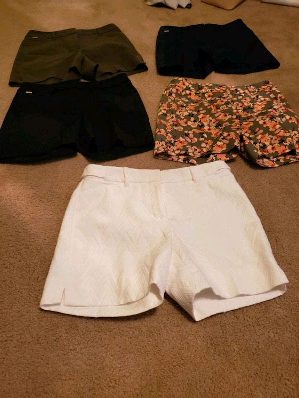 054a5c6cf8 Used NWOT White House Black Market 5 Pairs of Shorts Si for sale in Virginia  Beach - letgo