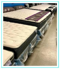 New - In the Plastic - Queen Mattress & Box Spring Sets - Warranty Manassas