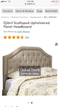 King size headboard brand new  Vaughan, L4H 1A4