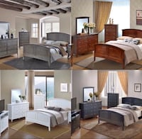 Brand New! 4 Colors Available. 5 Piece Bedroom On Sale $699 Great Neck, 11023