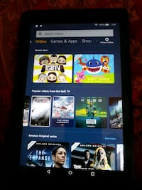 Amanzon Tablet with Alexa one crack on screen  Gaithersburg