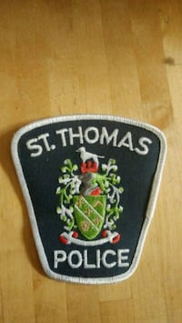 St Thomas Police Patch  Ingersoll, N5C 1S8