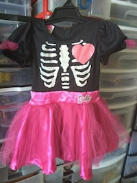 Pink skeleton Barbie Halloween costume Toronto, M6K 1S6
