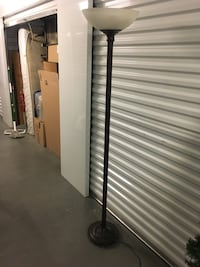 Black and gray floor lamp Whittier, 90604