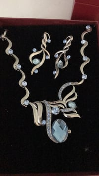 silver-colored chain necklace Surrey, V3T