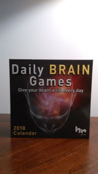 Daily Brain Games (Page a Day Calendar)  RALEIGH