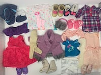 American girl doll clothes our generation  Toronto, M9B 2R5