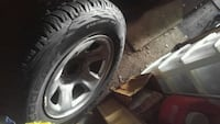 Tires 4x 245/70R17 dodge rims likenew London, N5V 1Z7