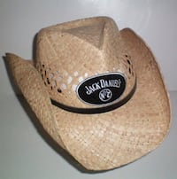 Jack Daniels Old No 7 Natural Straw Cowboy Hat Size XL London