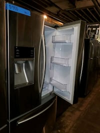 S French doors fridge in excellent conditions  Baltimore, 21223