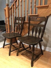 Solid Wood Chairs  Oakville, L6H 7N8
