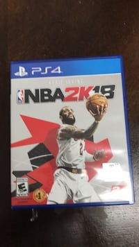 PS4 NBA2K18 Long Beach, 90805