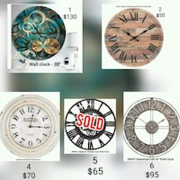 Wall Clock - Delivery  Toronto, M1H