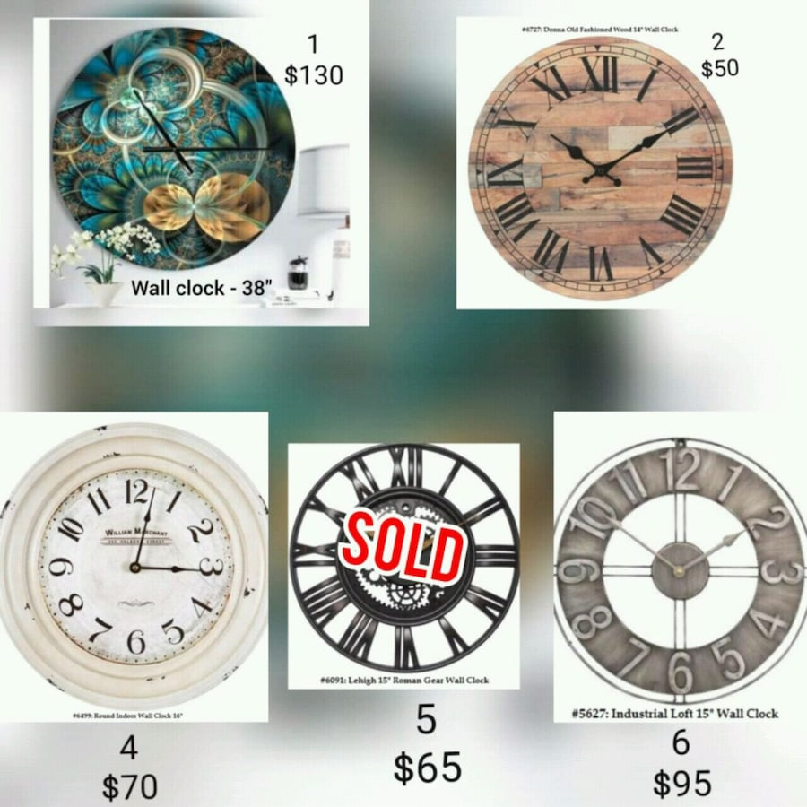 Wall Clock - Delivery
