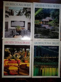 Architectural Digest Collectible Magazines Manassas