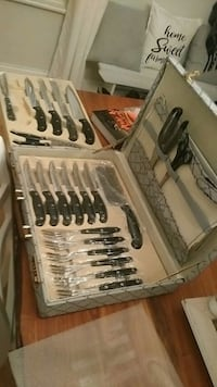 Professional Chef Knife Set by Monalisa Grimsby, L3M 3K6