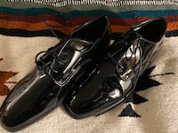 Men's shoes - black patent leather North Vancouver, V7J 3C6