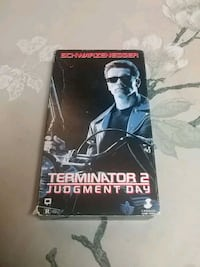 Terminator 2 Judgment Day VHS Barrie