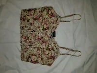 women's white and red floral bra Surrey, V3S 2M9