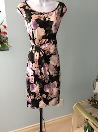 Floral Dress  with a side scallop Edmonton, T5Y 2X6