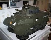 1/6 scale Radio Controlled M5 Stuart Tank To Trade London