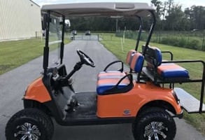 DC great running::{{::electric 4 seater::}}::golf cart 20001