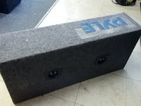 """Pyle Blue Wave 500 Watts 10"""" DVC Subwoofer Set in Wedge Boom Box"""
