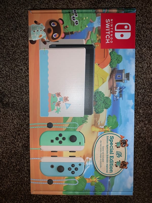 Sold Nintendo Switch Animal Crossing New Horizons Limited Edition