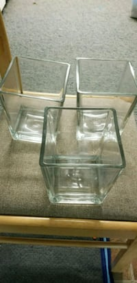 clear glass vases Calgary, T1Y 5K3