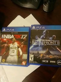 two Sony PS4 game cases Dartmouth, B2W 3G8