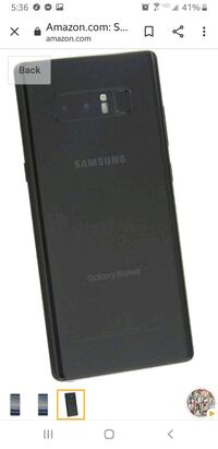 Samsung Galaxy Note 8 mint condition