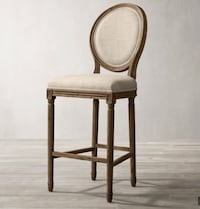9 matching Restoration Hardware dining chairs