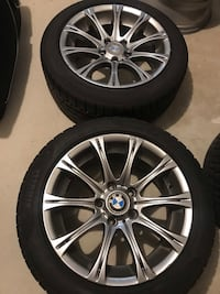 Bmw 3 Series 17 inch Rims and Tires  Milton, L9T