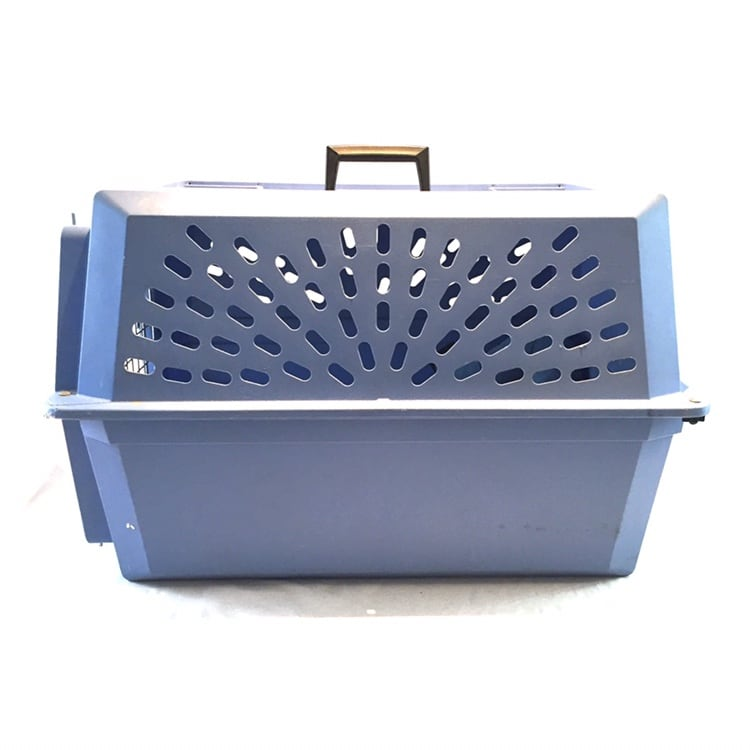 Large Pet Crate / Carrier Blue 26""