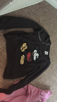 Black Mickey Mouse embroidered sweater Dayton, 45410