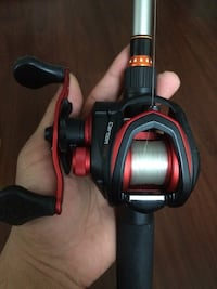 Lews fishing rod and reel