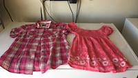 two pink button-up T-shirt and scoop neck top Moreno Valley, 92555
