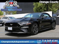 2018 Ford Mustang GT Premium Convertible Huntington Beach