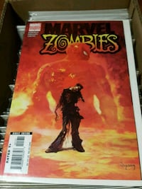 #1 Marvel Zombies comic book